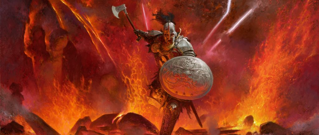 Blood Rage Angry Viking