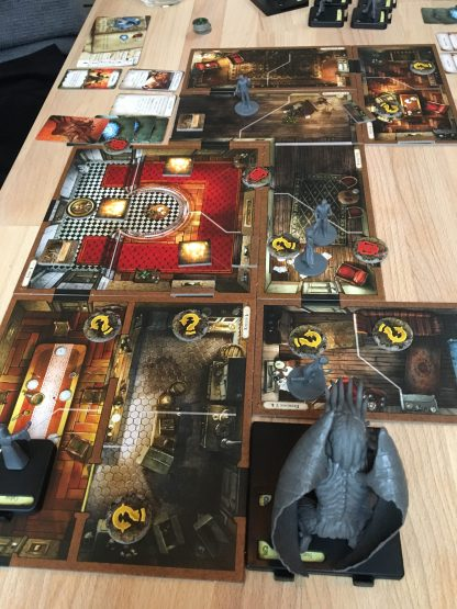 Mansions of Madness scenarie 1. Star Spawns closing in...
