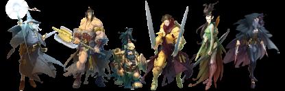 Massive Darkness karakterer
