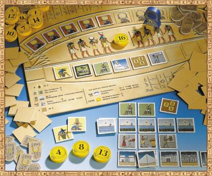 Ra gameboard